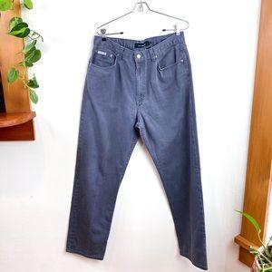 Calvin Klein Grey Denim Easy Fit Jeans 34